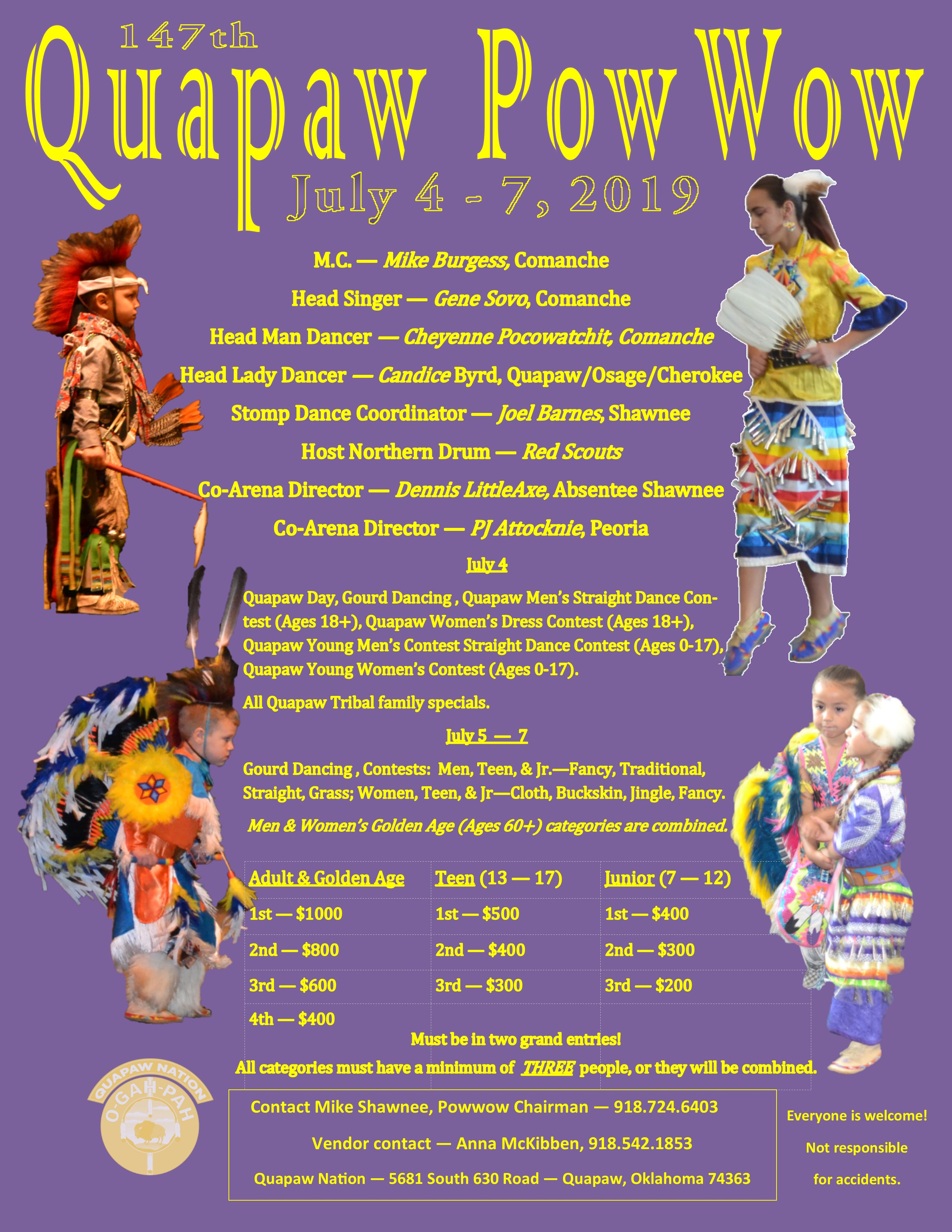 147th Quapaw Powow